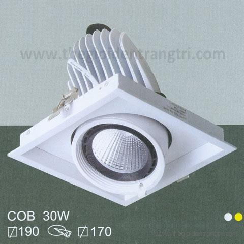 Đèn Led Âm Trần 30W EU-LA247 Ø170