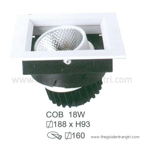Đèn Led Âm Trần 18W EU-LA271 160x160
