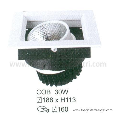 Đèn Led Âm Trần 30W EU-LA274 160x160
