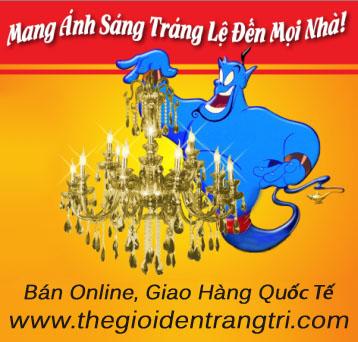 THẾ GIỚI ĐÈN TRANG TRÍ GIAO HÀNG QUỐC TẾ