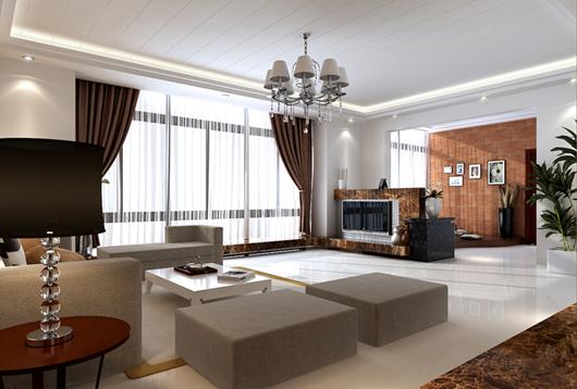 Cách chọn và bố trí lắp đặt đèn chùm hiện đại cho phòng khách hiện đại.