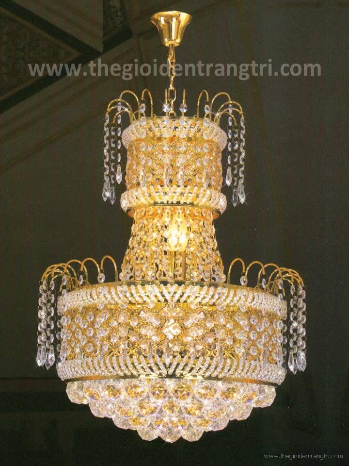 Đèn Chùm Pha Lê LED UCFL1228 Ø500