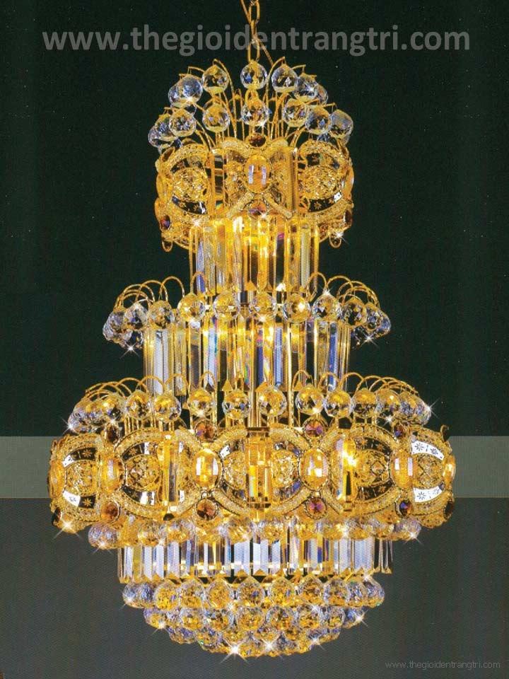 Đèn Chùm Pha Lê LED UCFL8223 Ø600