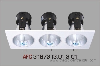 đèn lon pha 3 bóng