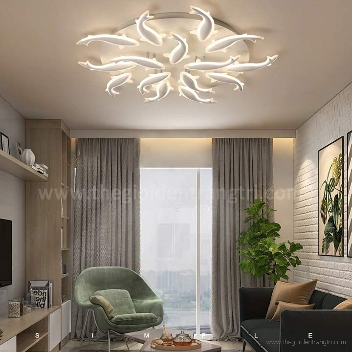 Đèn Áp Trần LED Phòng Khách LH-MO947A Ø1050