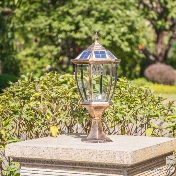 Đèn Lục Lăng Gắn Cổng Năng Lượng Mặt Trời LH-TD18 240x240