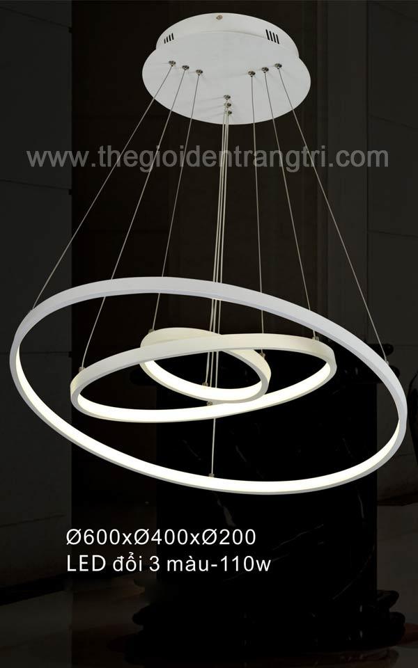 ĐÈN THẢ LED ĐỔI 3 MÀU
