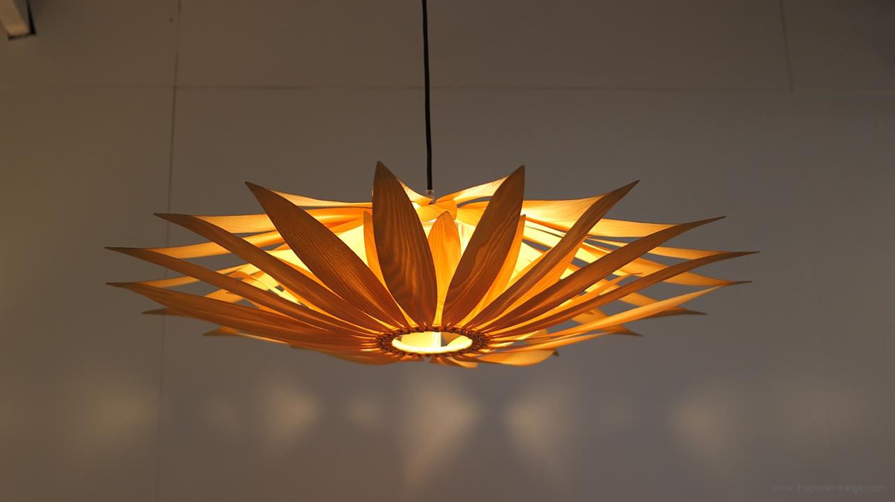 Đèn Thả Gỗ Nghệ Thuật 8979