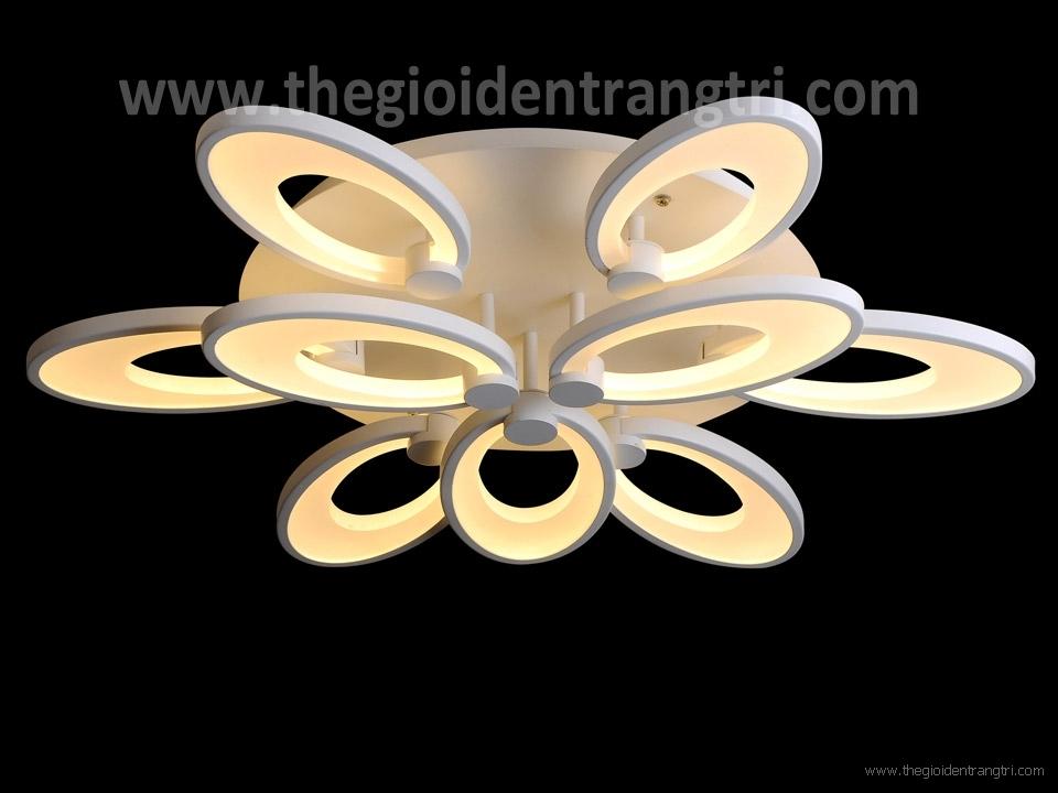 Đèn Áp trần Led Đổi Màu Nghệ Thuật PN8869