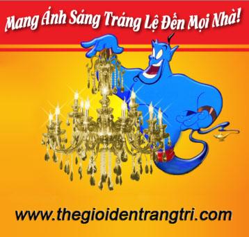 THẾ GIỚI ĐÈN TRANG TRÍ: GIAO HÀNG TOÀN QUỐC