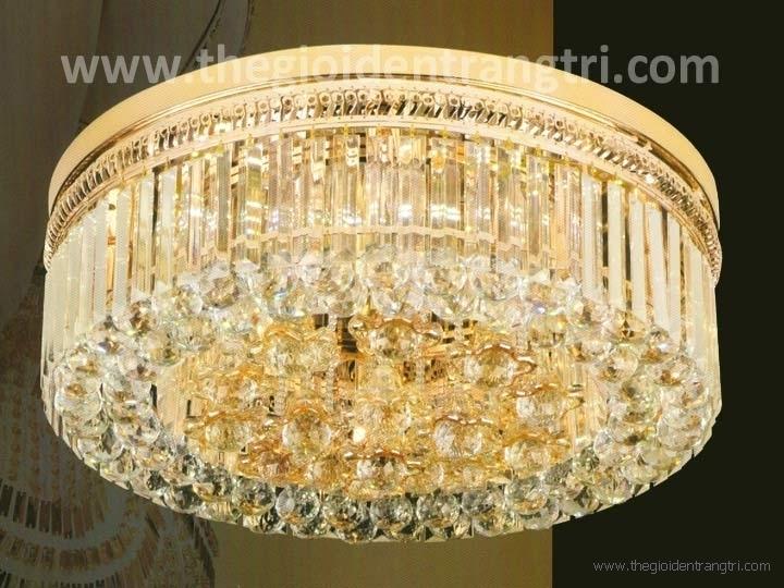 Đèn Mâm Pha Lê LED UMLF7140 Ø600