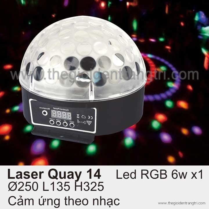 Đèn Led Cảm Ứng Phòng Karaoke Laser 14