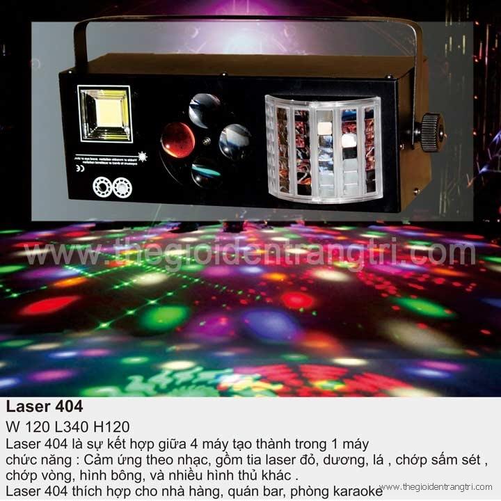 Đèn Trang Trí Phòng Karaoke Laser 404