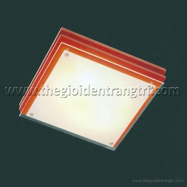 Đèn Ốp Trần Led Vuông Đổi Màu PN87062L Ø400