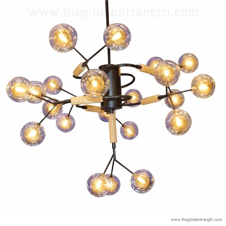 Đèn Chùm Nghệ Thuật LH-THCN127B Ø800