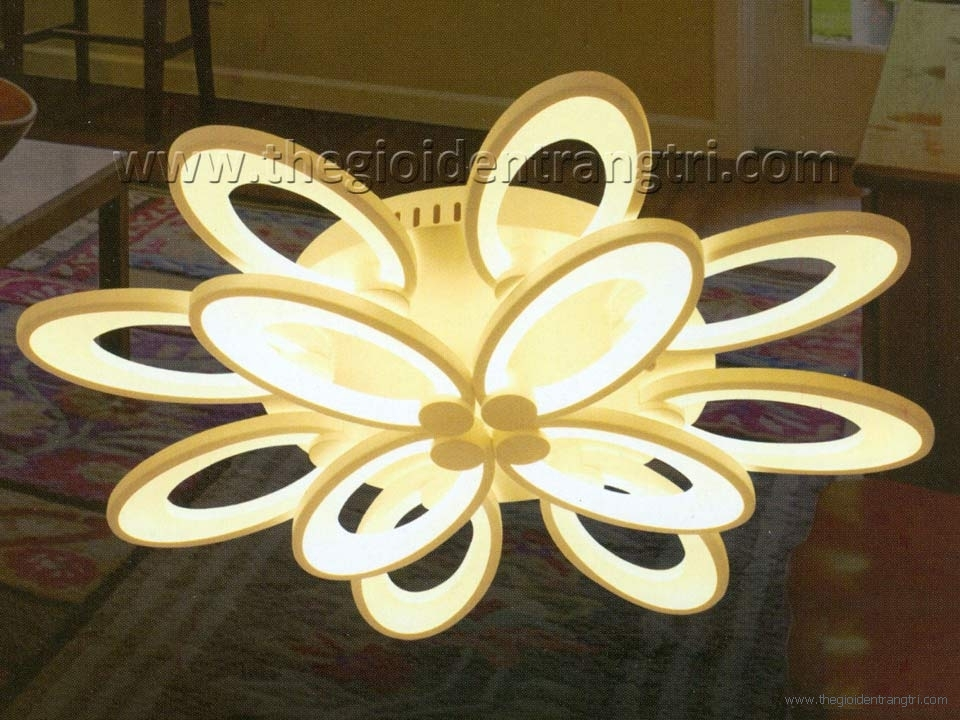 Đèn Áp Trần LED KDY011 Ø750