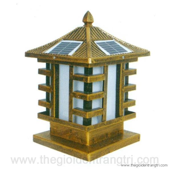 Đèn Trụ Cổng Năng Lượng Mặt Trời TSG1410 300x300