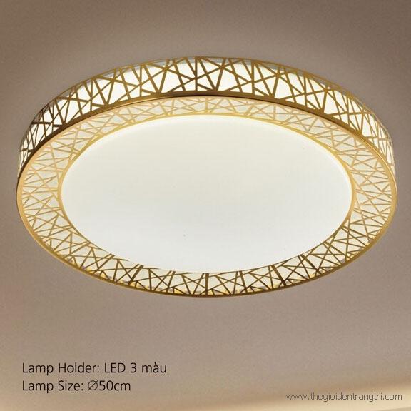 Đèn Áp Trần LED E2-196 Ø500