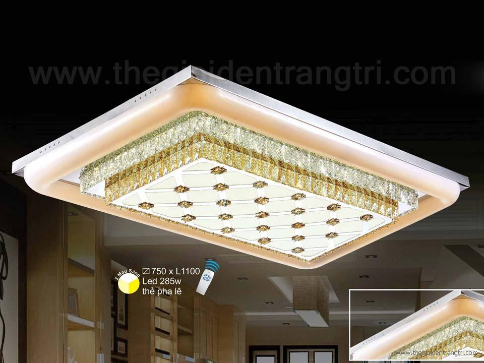 Đèn Ốp Trần Pha Lê LED SN1130 1100x750
