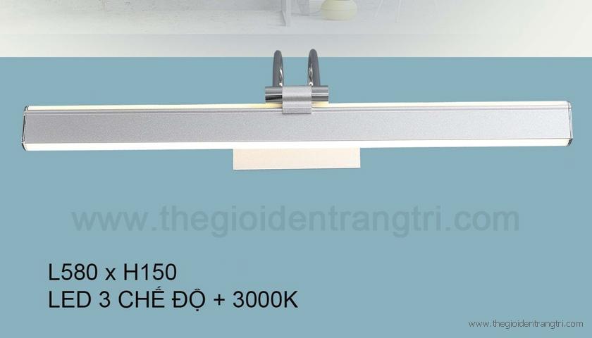 Đèn Trang Trí Gương LED KH-RT5677-58 Bạc