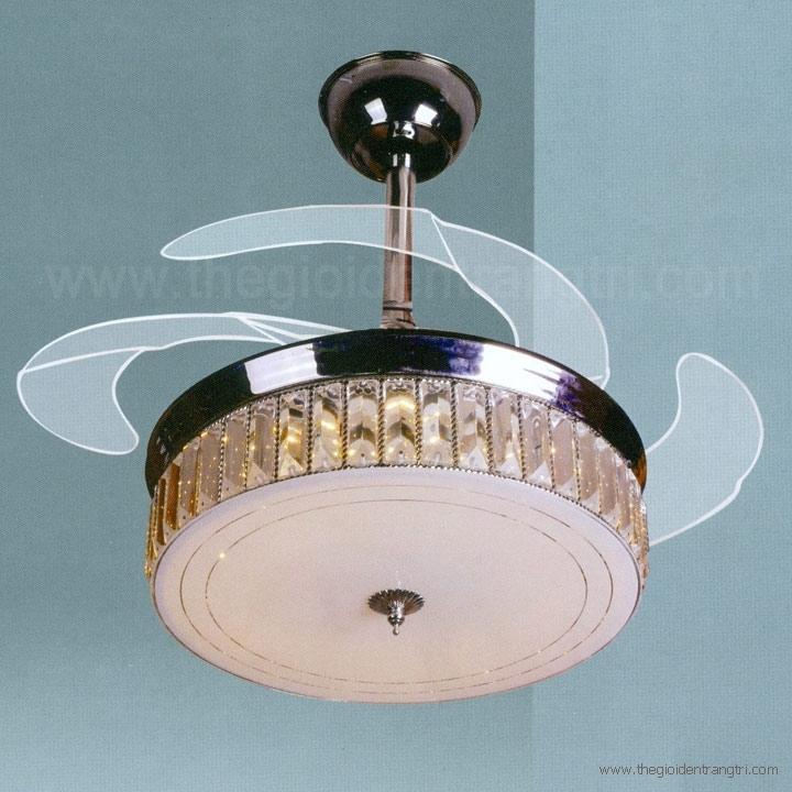 Đèn Quạt Cánh Xếp AU-QT6519 Ø1100