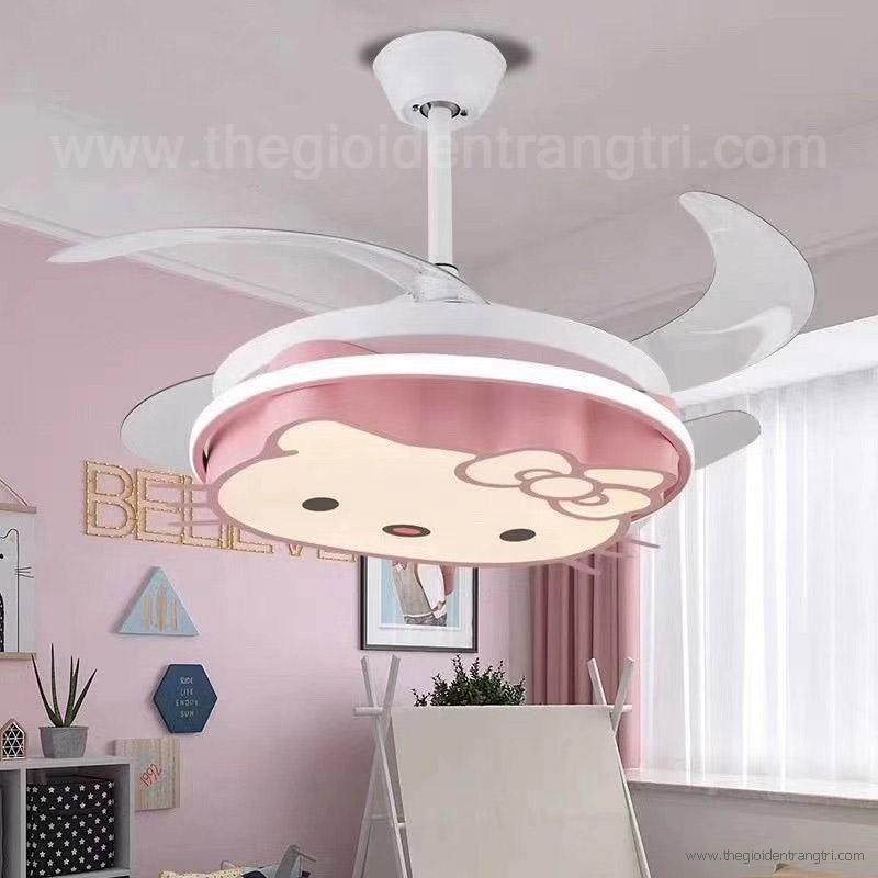 Đèn Quạt LED Cho Bé Vifa25 Ø1050