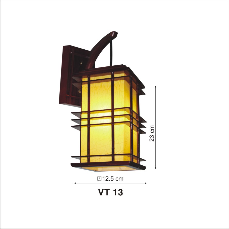 Đèn Vách Da Dê EU-VG313