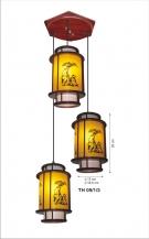 Đèn Thả Da Dê ETG517 Ø350