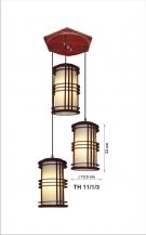 Đèn Thả Da Dê ETG526 Ø350