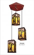 Đèn Thả Da Dê ETG525 Ø350