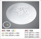Đèn Áp Trần Led 3 Chế Độ AFC 164 15W Ø350