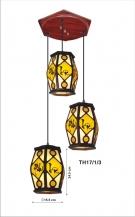 Đèn Thả Da Dê ETG514 Ø350