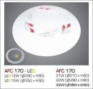 Đèn Áp Trần Led 3 Chế Độ AFC 170 15W Ø350