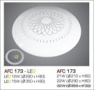 Đèn Áp Trần Led 3 Chế Độ AFC 173 15W Ø350