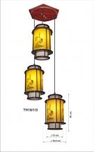 Đèn Thả Da Dê ETG523 Ø350