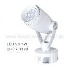 Đèn Pha Tiêu Điểm LED 5W EU-FN179