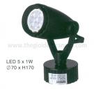 Đèn Pha Tiêu Điểm LED 5W EU-FN180