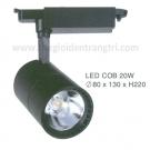 Đèn Pha Tiêu Điểm LED 20W EU-FR187