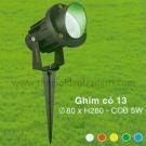 Đèn Ghim Cỏ LED 5W Số 13