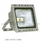Đèn Pha FA-LED-C 100W Trắng, Vàng