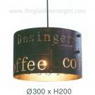 Đèn Thả EU-TE036 Ø300