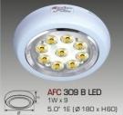 Đèn Lon Nổi LED AFC 309B Ø180 9W