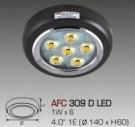 Đèn Lon Nổi LED AFC 309D Ø140
