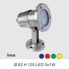 Đèn Pha Âm Nước LED 3W SN3775