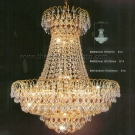 Đèn Chùm Pha Lê QN5722 Ø600