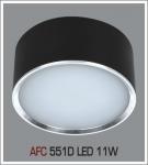 Đèn Lon Nổi LED AFC 551D 11W Ø115