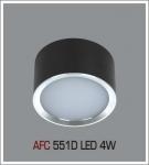 Đèn Lon Nổi LED AFC 551D 4W Ø80