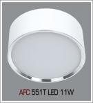 Đèn Lon Nổi LED AFC 551T 11W Ø115