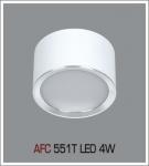 Đèn Lon Nổi LED AFC 551T 4W Ø80