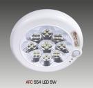 Đèn Lon Nổi LED Cảm Ứng AFC 554 5W Ø220